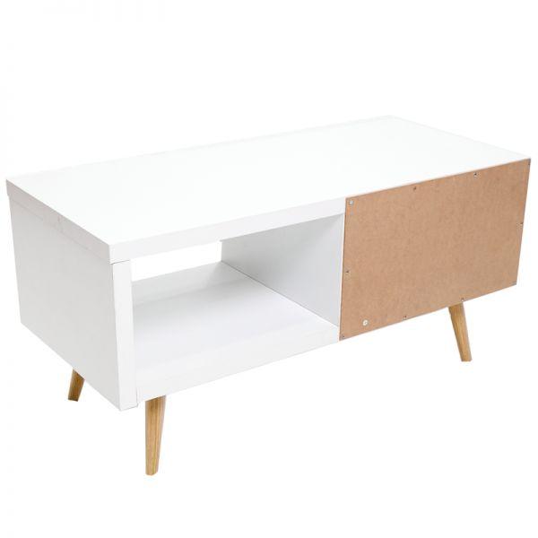 Mueble de entretenimiento blanco Jennifer Home
