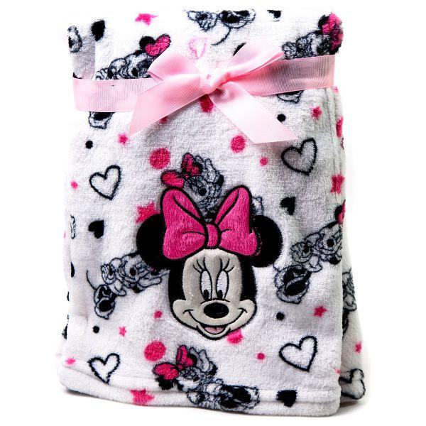 Frazada de bebé Minnie Disney