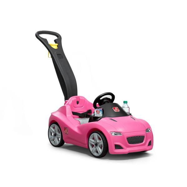 Coche buggy cruiser rosa para empujar