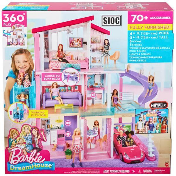 Casa de los sueños con tres pisos - Disney Barbie
