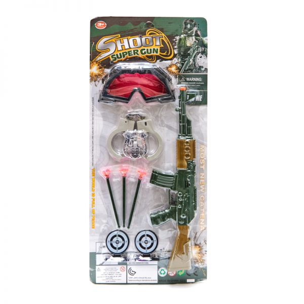 Set de juego de pistola con accesorios