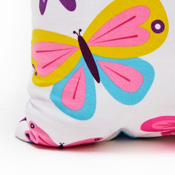 Cojín decorativo mariposas