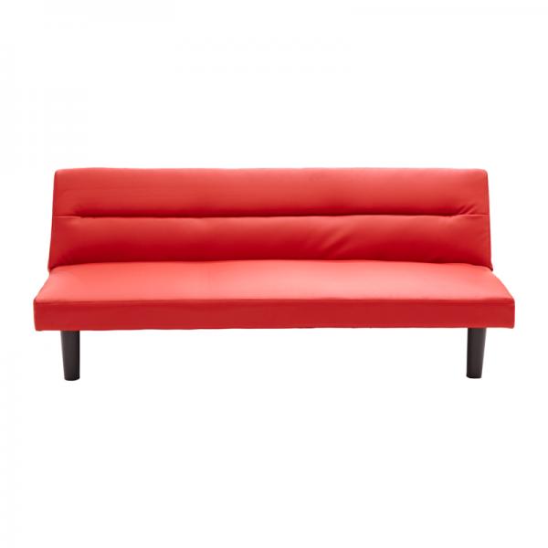 Sofá cama color rojo Jennifer Home