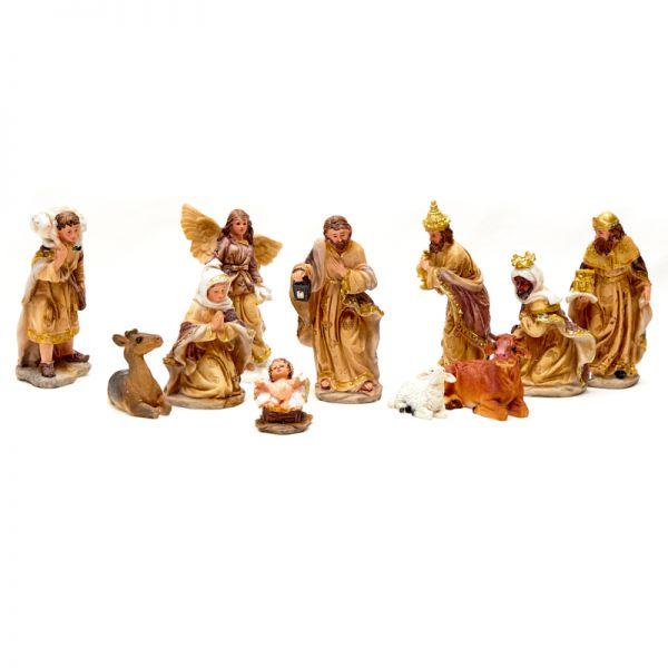 Nacimiento de navidad 15 cm 11 piezas