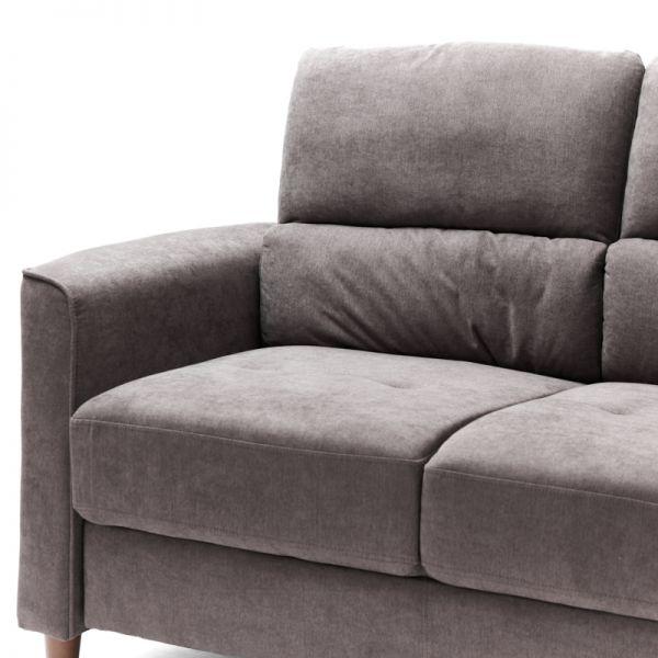 Sofá de madera 2 puestos beige  Soho Furniture