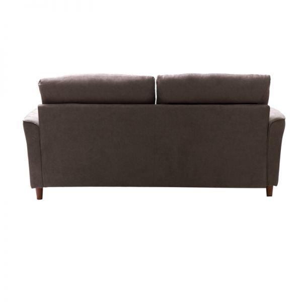 Sofá de madera 3 puestos beige Soho Furniture