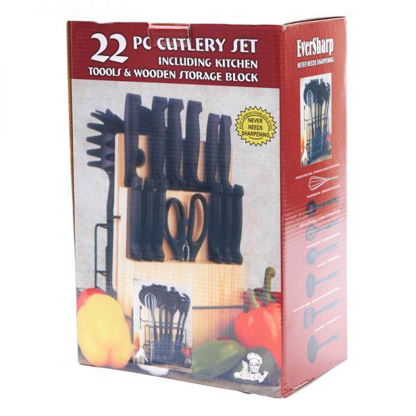 Set de utensilios de cocina  22 piezas