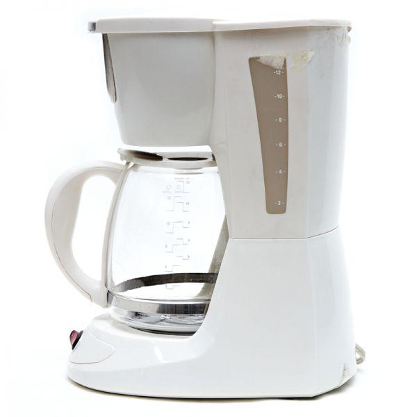 Cafetera Black & Decker blanca 12 tazas