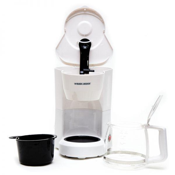 Cafetera Black & Decker blanca 5 tazas