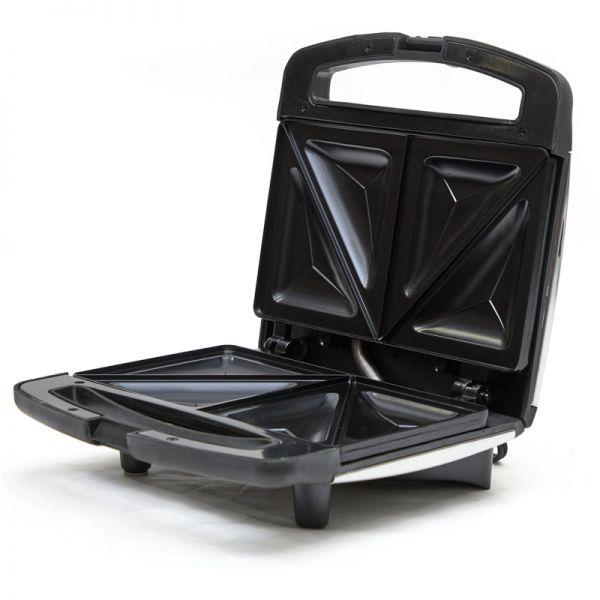 Sandwichera acero inoxidable Black & Decker