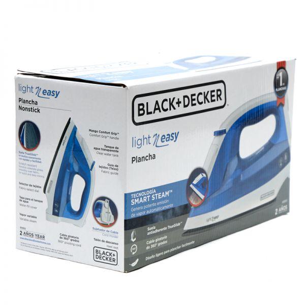 Plancha a vapor Black & Decker Light n Easy Azul
