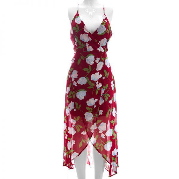 Vestido estampado flores Ambition
