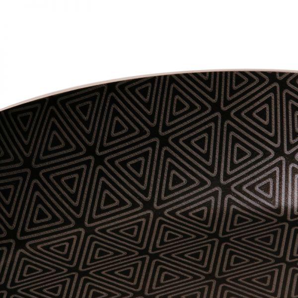 Sartén Imusa Talent -  Triforce con tapa de vidrio de 18 cms.