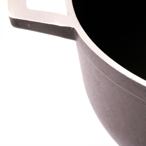 Paila Imusa antiadherente con tapa de vidrio - El Original tamaño # 7 de 26 cms.