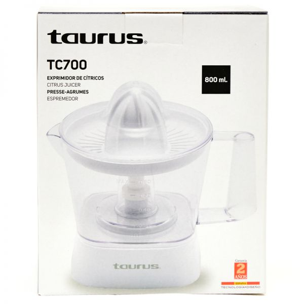Exprimidor de jugo Taurus 800ML TC700