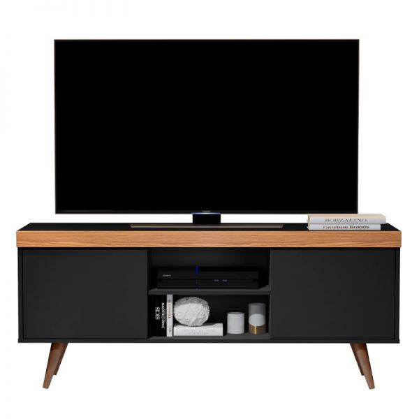 Mueble para televisión en color negro
