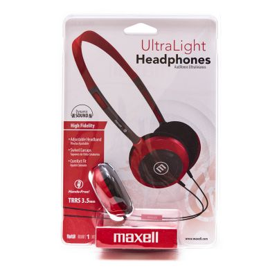 Audífonos HP200 rojo Maxell