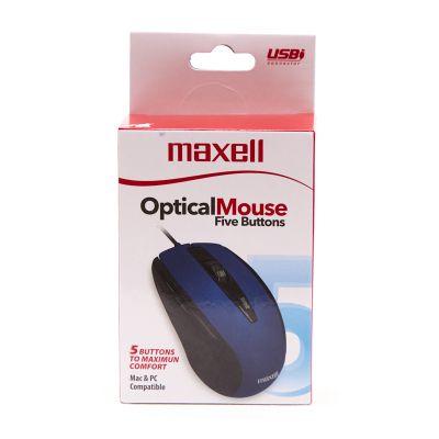Mouse 5 botones azul Maxell