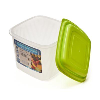 Envase plástico contenedor de alimentos