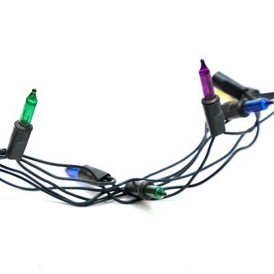 Luces multicolor de 100 estilo cordón