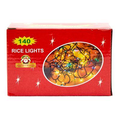 Luces multicolor de 140 estilo arroz