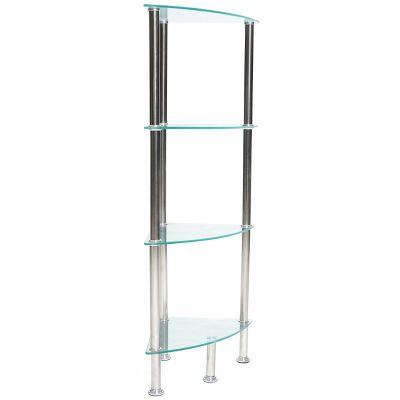 Esquinero de vidrio 100 cm alto Jennifer Home