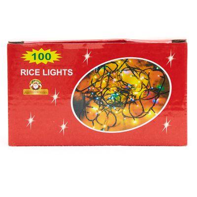 Luces rojas de 100 estilo arroz
