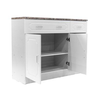 Mueble de cocina color blanco