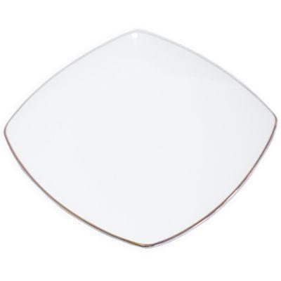 Plato de cerámica cuadrado Jennifer Home