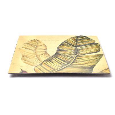 Plato decorativo de plástico Concepts