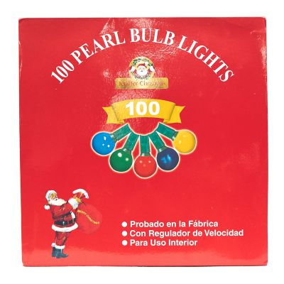 Luces multicolor de 100 estilo bombillo