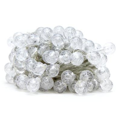 Luces led blancas de 100 estilo bombillo transparente