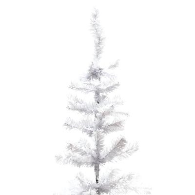 Árbol de navidad sintético blanco 153cm