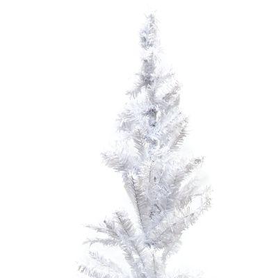 Árbol de navidad sintético blanco 180cm