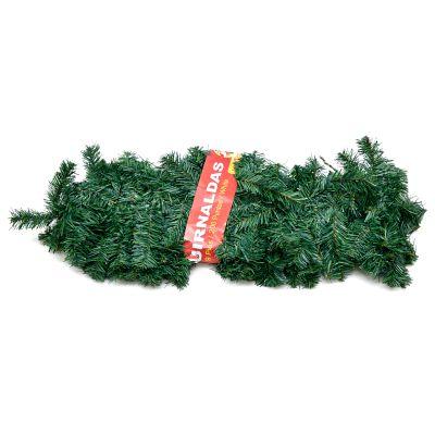 Adornos guirnaldas color verde 6.5cm x 30cm