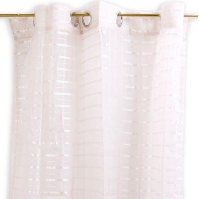 Cortinas de tela crema Jennifer Home
