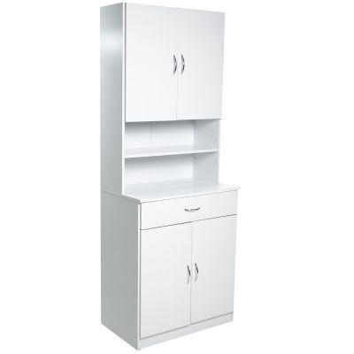Mueble de cocina blanco gaveta deslizable Jennifer Home