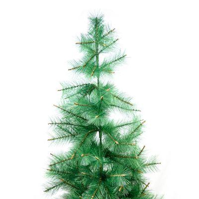 Árbol de navidad sintético coposo verde 210cm