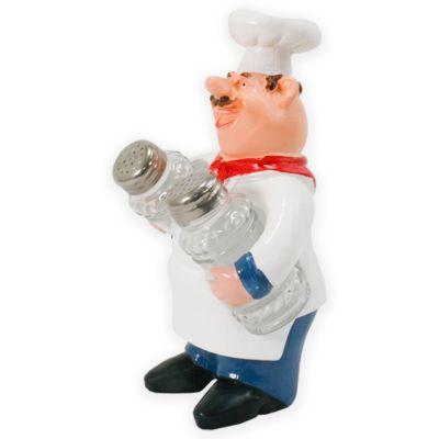 Adorno de cocina chef salero pimentero Jennifer Home