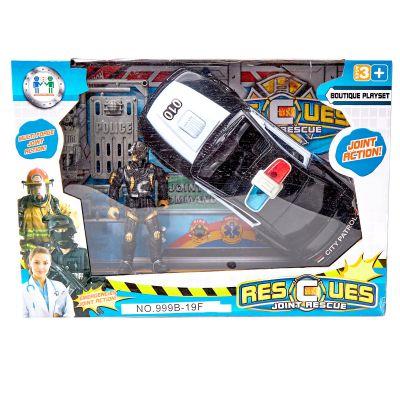 Juguete de auto policía
