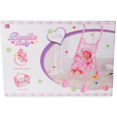 Coche con muñeca Baella Baby Coaster