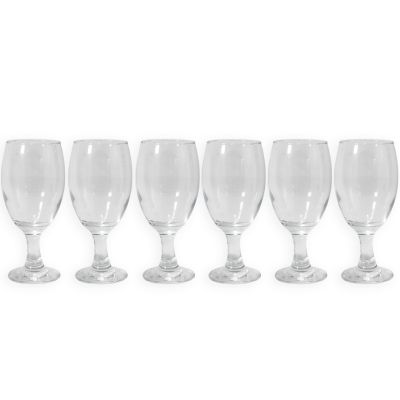 Set de copas de vidrio 6 unidades Jennifer Home