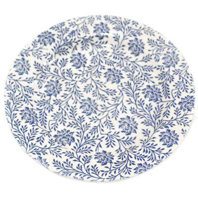 Plato de cerámica estampado llano 26cm Jennifer Home
