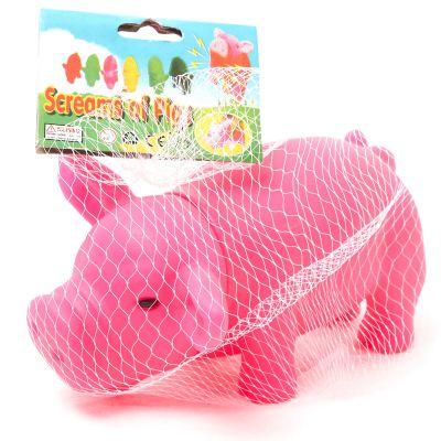 Juguete chillón cerdito rosado para mascotas Jennifer Home