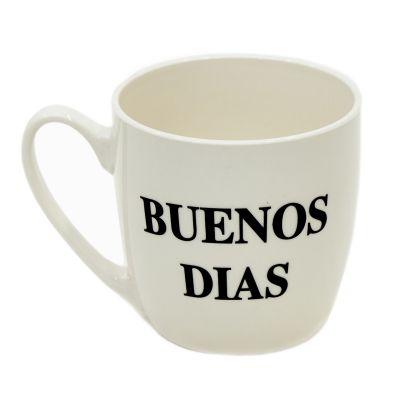 Taza de cerámica Buenos Días