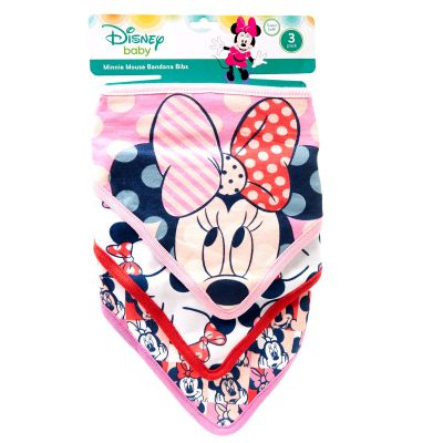 Baberos para bebé Minnie Mouse Best Buy