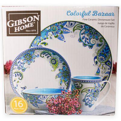 Set de vajilla 16 piezas Gibson