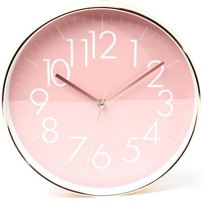 Reloj de pared rosado Concepts