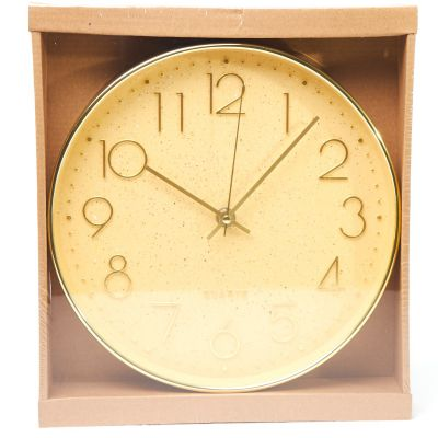 Reloj de pared dorado Concepts