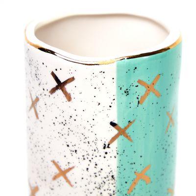 Jarrón de cerámica figuras X Concepts